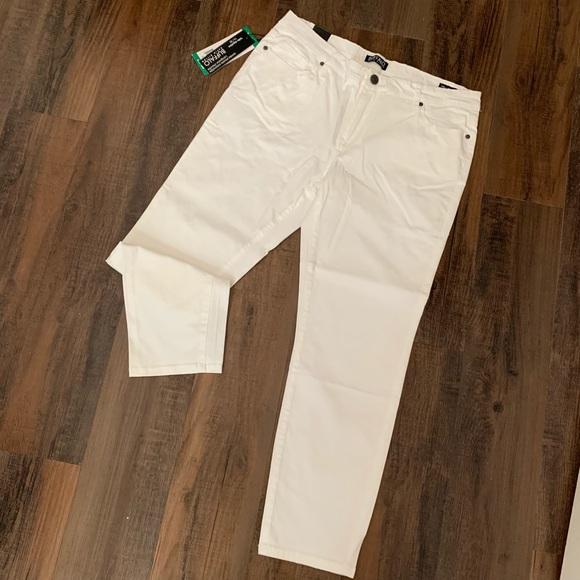 Buffalo David Bitton Denim - NEW White skinny ankle/Capri jeans